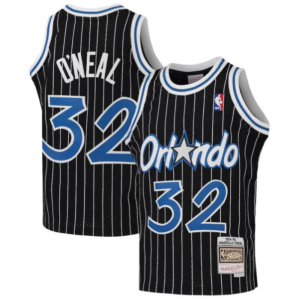 Youth Orlando Magic Shaquille O'Neal Mitchell & Ness Black ...