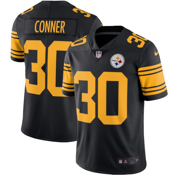 James Conner Pittsburgh Steelers Nike Color Rush Vapor Limited ...