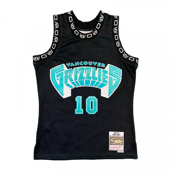 Vancouver Grizzlies Mike Bibby Mitchell & Ness 1998-99 Hardwood ...