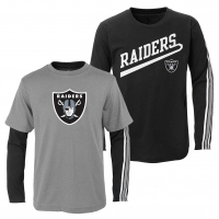 Oakland Raiders Iconic Poly Mesh Supporters Jersey Trikot